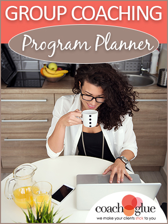 group coaching planner PLR