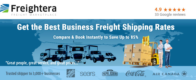 FREIGHTERA: Best Freight Quotes Online | US & Canada Freight