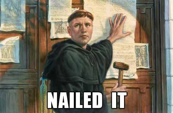 Martin Luther - Reformation Day