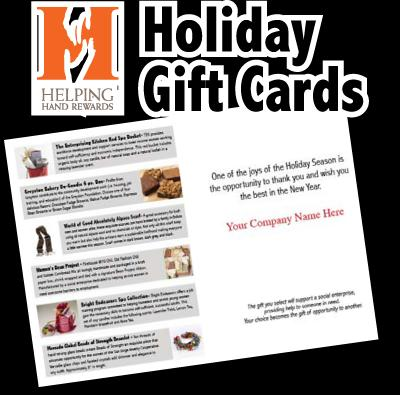 Helping Hands Gift Cards