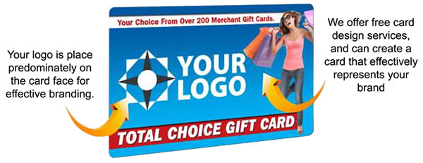Total Choice Custom Gift Card