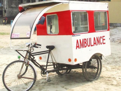 Solar powered ambulance