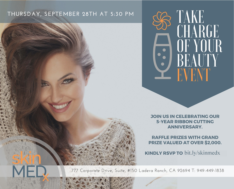 Take Charge of Your Beauty event Invitation