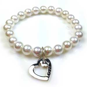 The Sister Accord LOVE Bracelet by Lisa Robin Jewelry
