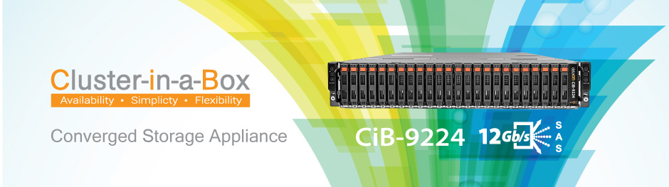 Cluster-in-a-Box Converged Storage Appliance