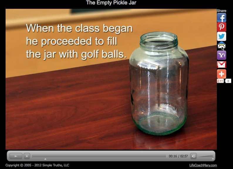 Watch The Empty Pickle Jar