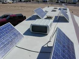 Charging your RV Batteries with Solar Panels