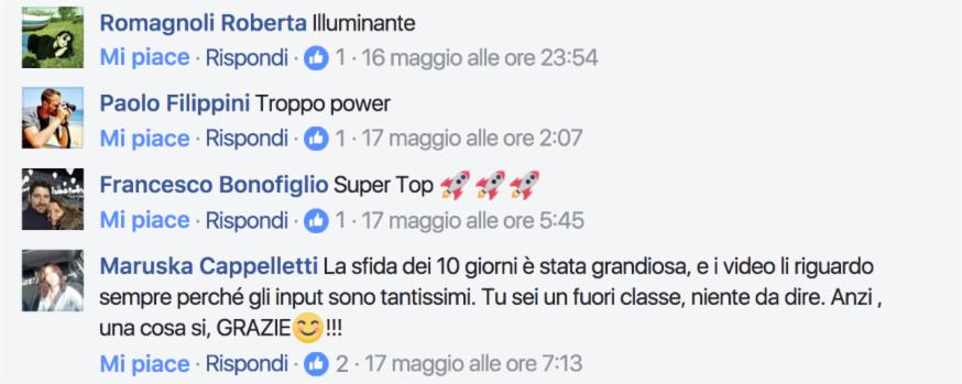 Commenti Facebook