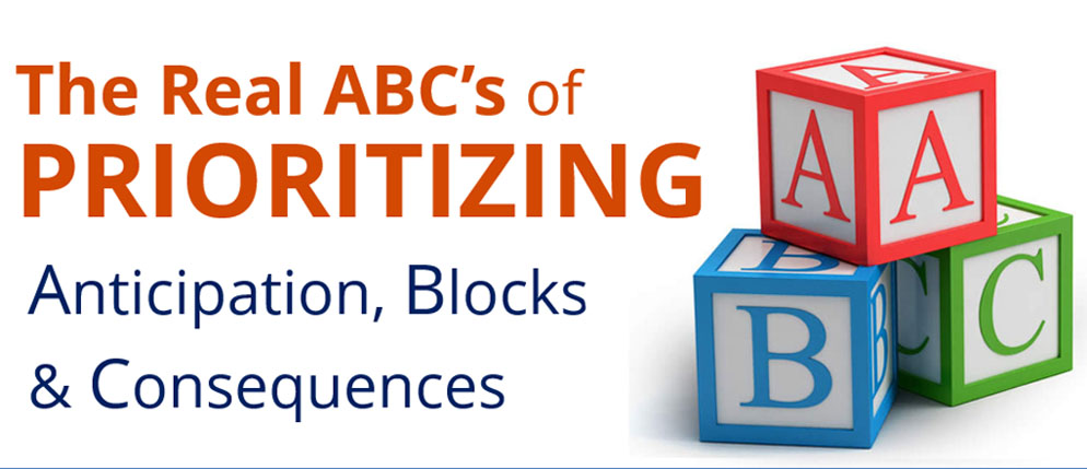 The Real ABC's of Prioritizing webinar