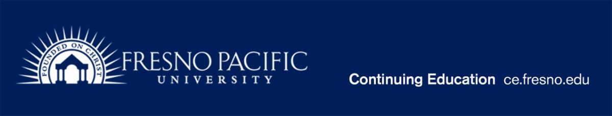 Fresno Pacific University Continuing Education