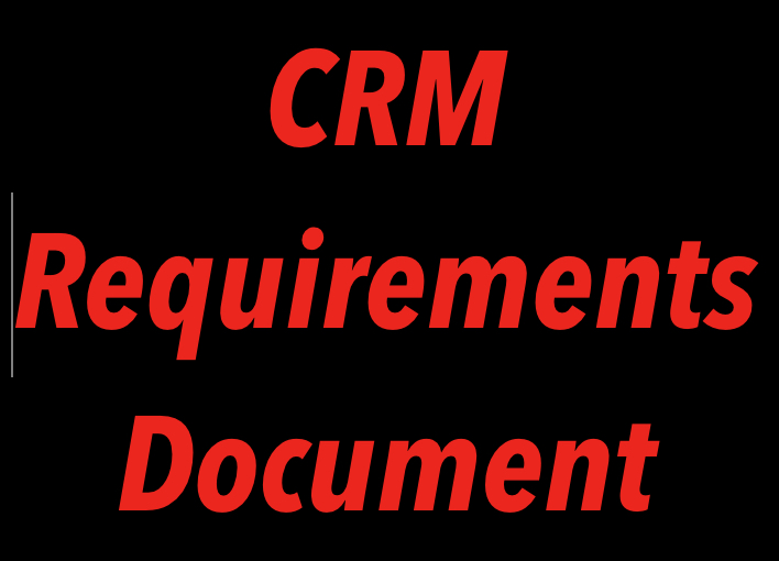 CRM Requirements Document