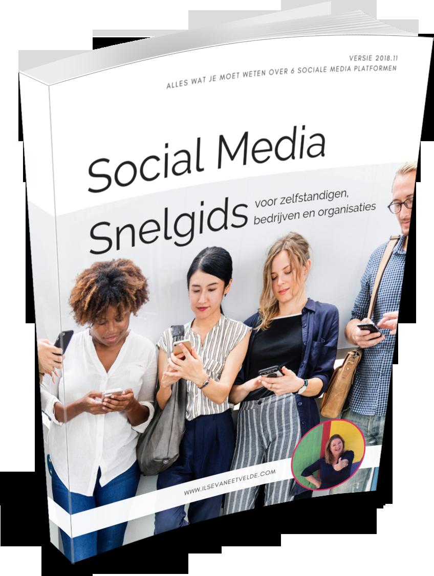 www.ilsevaneetvelde.com Social Media Snelgids