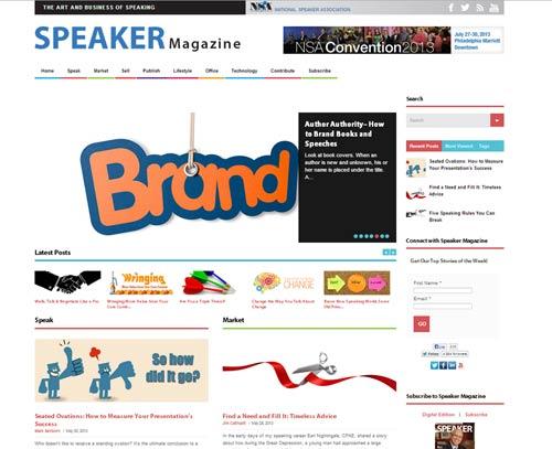 Speaker magazine blog