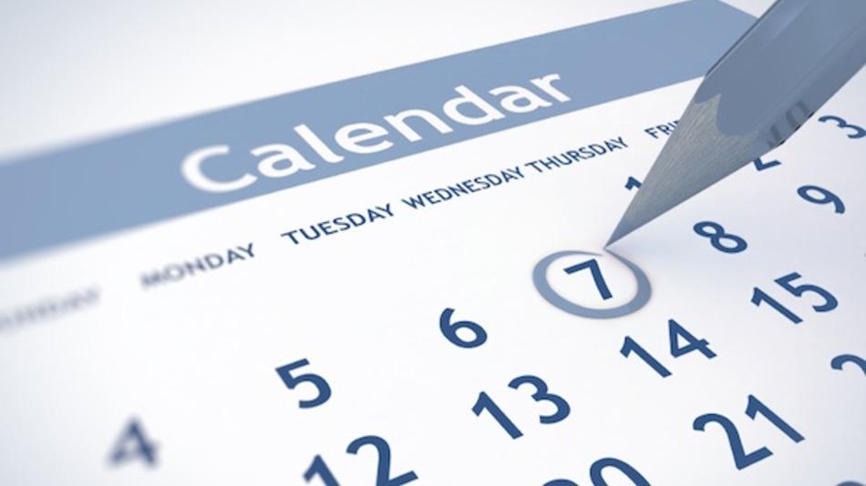 Calendario Cursos