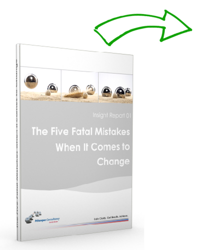 The 5 fatal mistakes when it comes to change