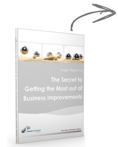 The Secret to Getting The Most out of Business Improvements