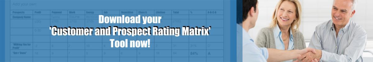Rating Matrix Banner