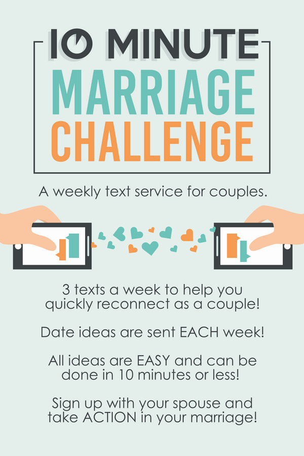 10 Minute Marriage Challenge