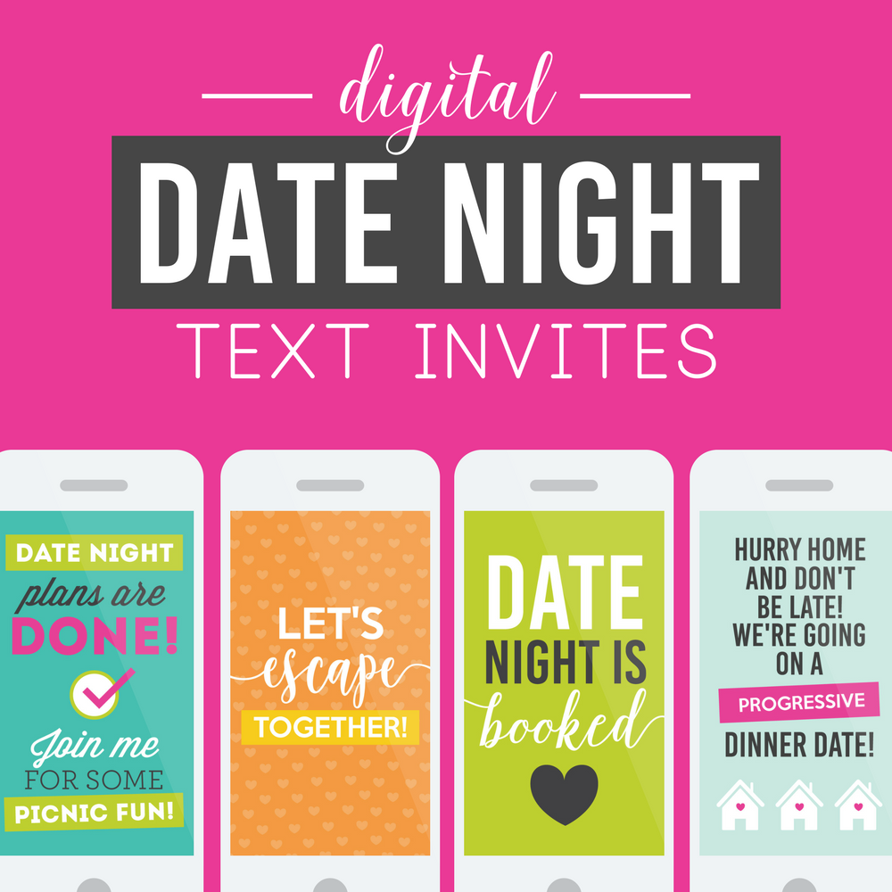 Digital Date Night Invite