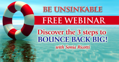 Unsinkable Bounce Back Webinar