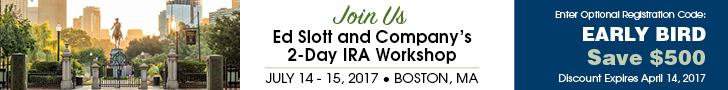 Ed Slott's IRA Workshop