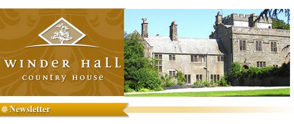 Winder Hall Country House Newsletter