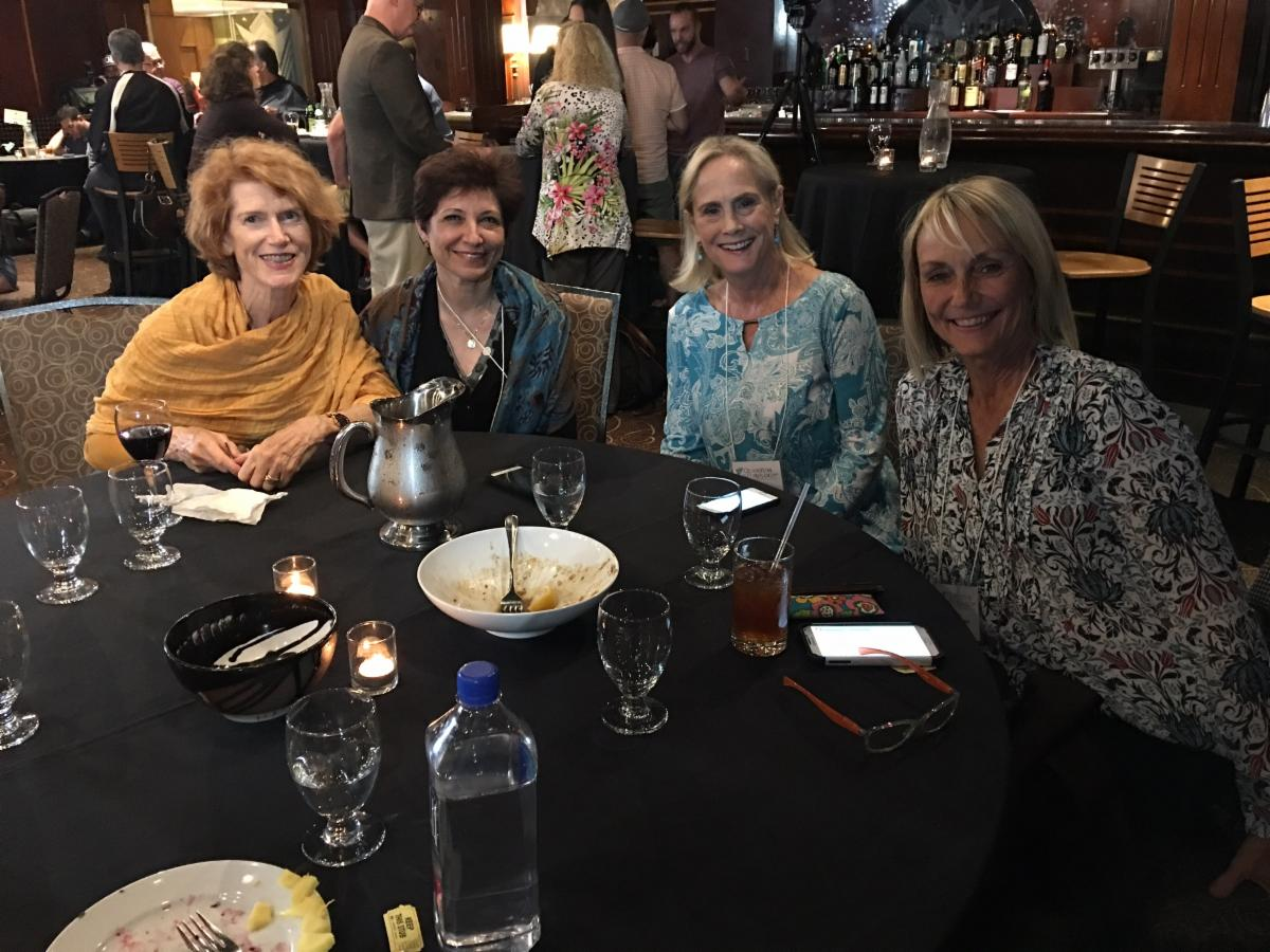 Beautiful doctors (from left) Dr. Victoria Moore, Dr. Nazee Rafagha, Dr. Diane Jordan, and Dr. Kathy Warren