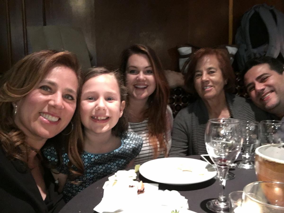 Love from Lori, Gabby, Kate, Abuelita Tina, and Dan