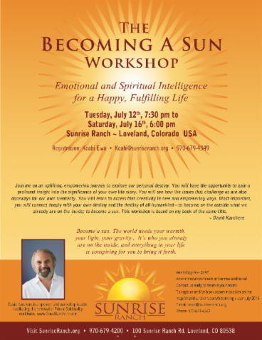 Becoming A Sun Workshop