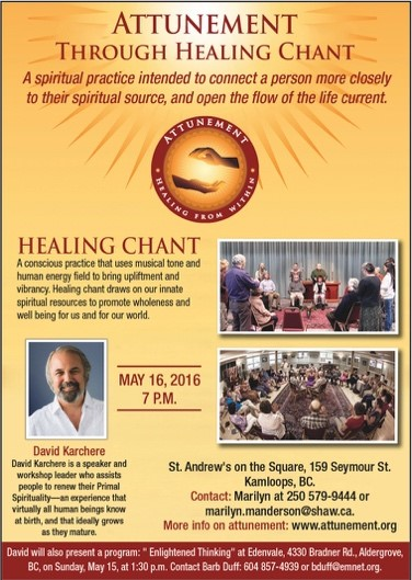 Attunement Event May 16
