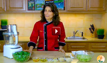 Cherie Soria makes Dairy-Free Pesto