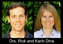 Drs. Rick and Karin Dina