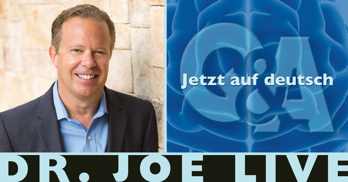Announcement - Dr. Joe Live is now in German