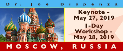 Evening and 1 Day Workshop in Moscow, Russia, May 27 - 28, 2019