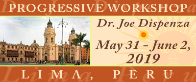 Progressive Workshop in Lima, Peru, May 31st - June 2nd, 2019