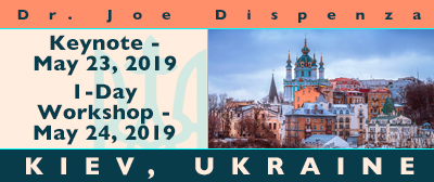 Evening and 1 Day Workshop: Kiev, Ukraine, May 23 - 24, 2019