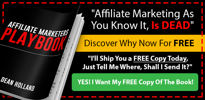 Affiliate Marketers Playbook Offer