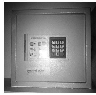 keypad safe
