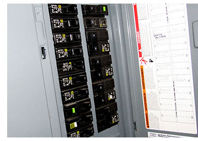 panel breaker box