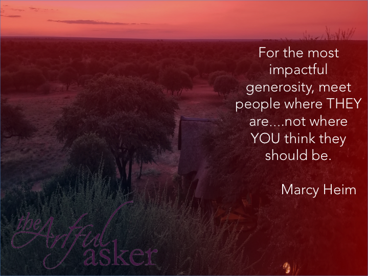 impactful generosity quote