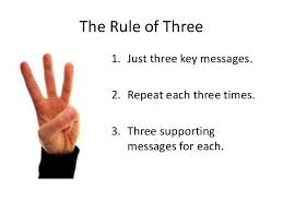 3 messages