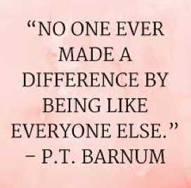 no one ever made a difference