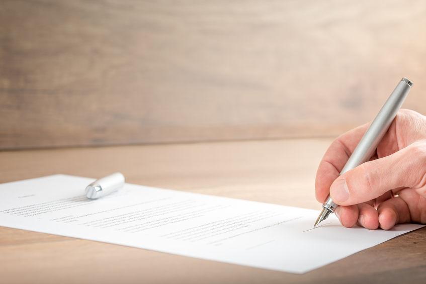 Written agreements