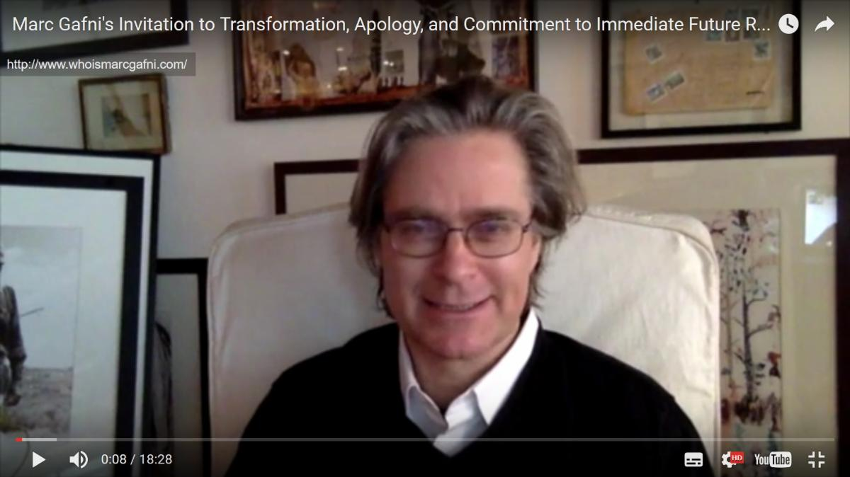 Marc Gafni's Invitation to Dialogue and Transformation