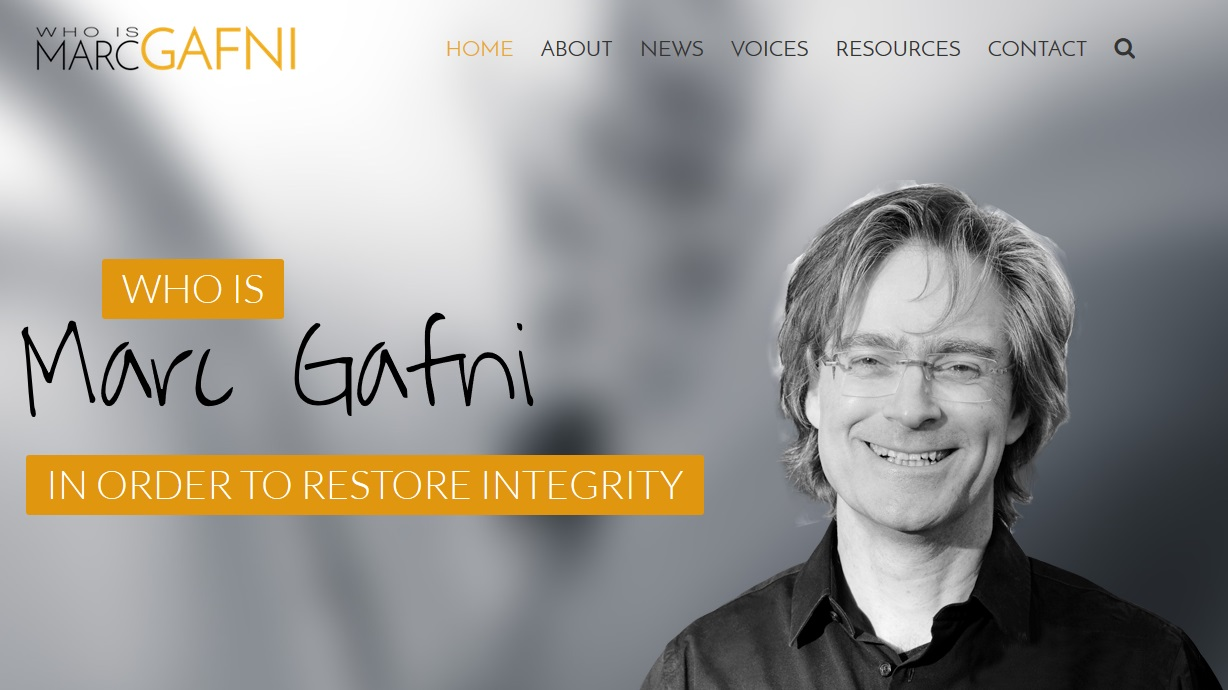 Who Is Marc Gafni?