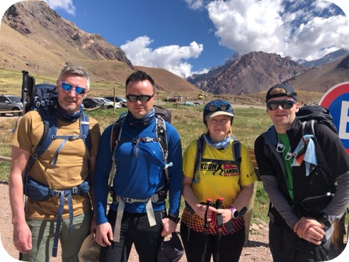 Aconcagua team 2020