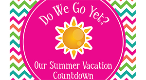 picture relating to Vacation Countdown Calendar Printable named Free of charge Printable Summer season Holiday Countdown Calendar Ashlee
