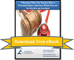 Download Ebook: 5 Reasons Why You Need to Hire a Personal Injury Attorney When You are Involved in an Accident