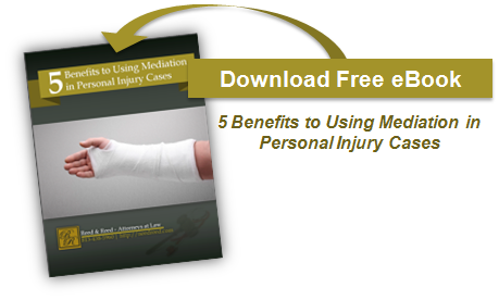 Download Ebook - 5 Benefits to Using Mediation in Personal Injury Cases