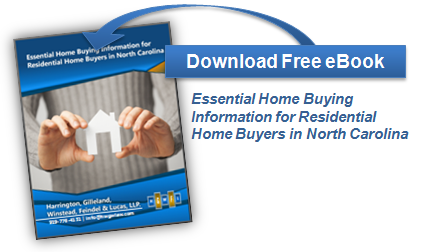 Download Ebook - Essential Home Buying Information for Residential Home Buyers in North Carolina